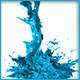 HD Abstract Water Paint Liquid Splash 18