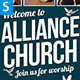 Church Program - GraphicRiver Item for Sale