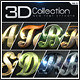New 3D Collection Text Effects GO.3 - GraphicRiver Item for Sale