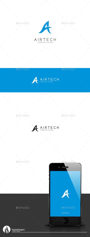 GraphicRiver Airtech Logo 9657053