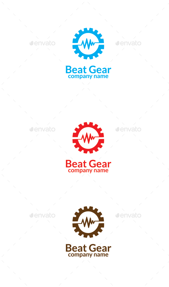 GraphicRiver Beat Gear 9657306