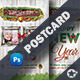 Christmas Postcard Templates - GraphicRiver Item for Sale