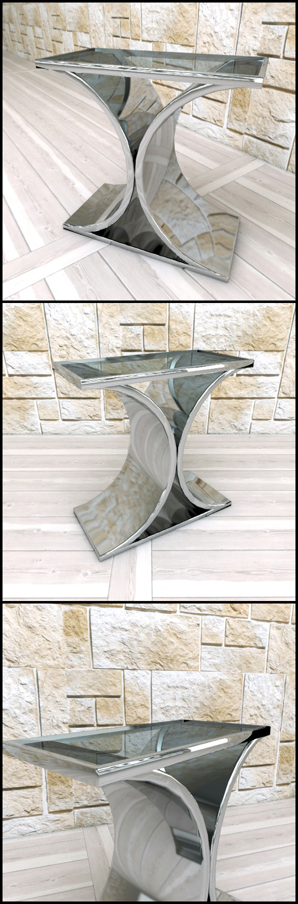 3DOcean Andrew Martin Brion Side Table 9657714