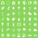 Vector Set of Ecologic Icons - GraphicRiver Item for Sale