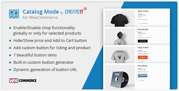 Download Catalog Mode for WooCommerce nulled download