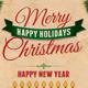 Christmas Retro Post Cards to Santa - GraphicRiver Item for Sale