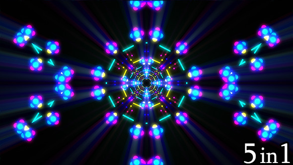 VideoHive Night Lights 9658191