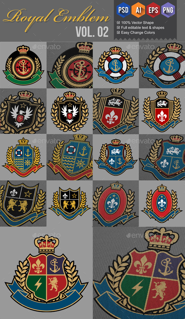 GraphicRiver Royal Emblem v2 9658240