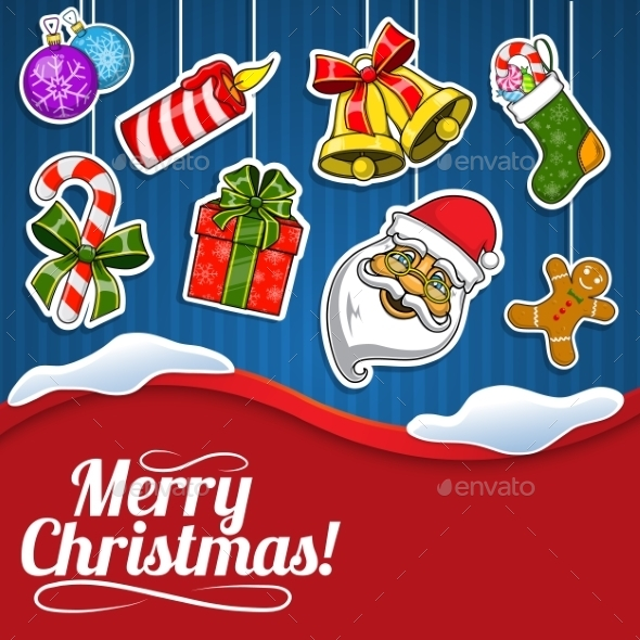 GraphicRiver Christmas Holiday Background 9660702