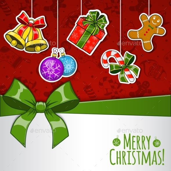 GraphicRiver Christmas Holiday Background 9660705