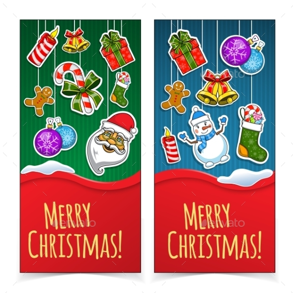 GraphicRiver Christmas Banners 9660748