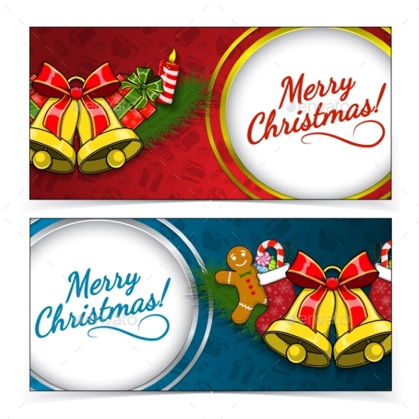 GraphicRiver Christmas Banners 9660760