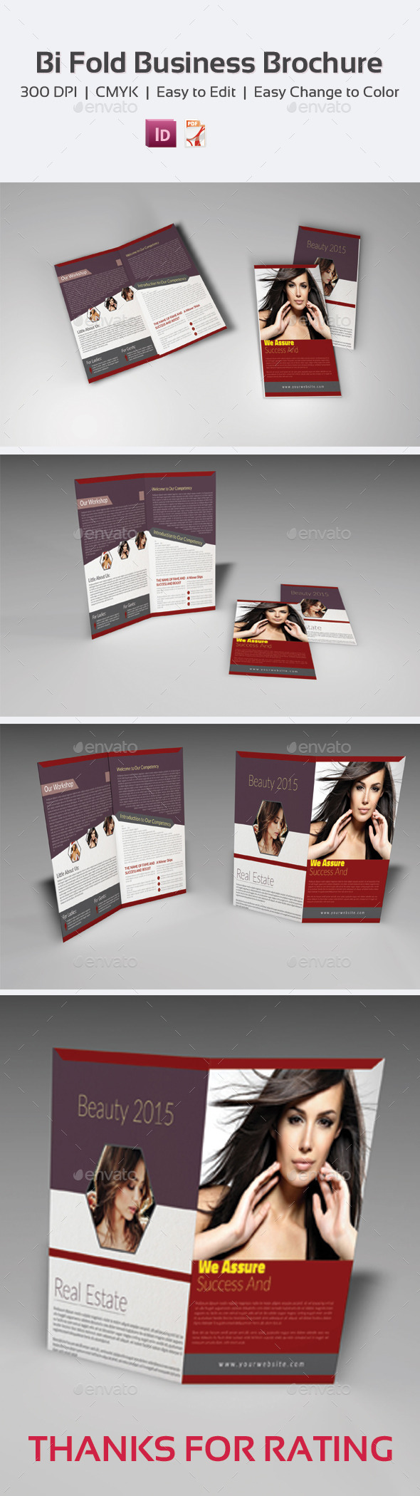 GraphicRiver Bi Fold Business Brochure 9660807