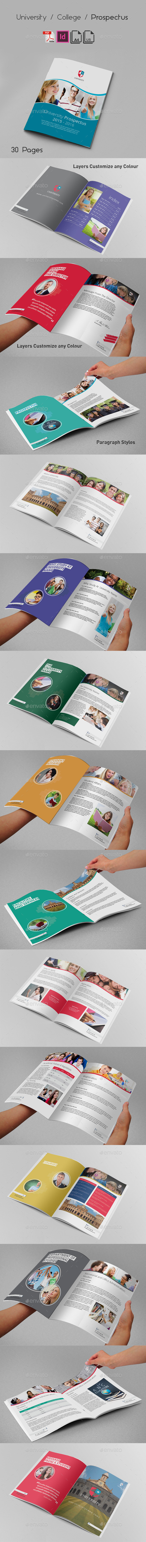 GraphicRiver University College Prospectus 9661049
