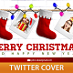 Christmas Boots Twitter Cover - GraphicRiver Item for Sale