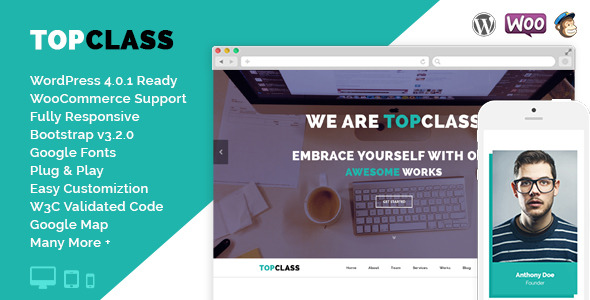 TopClass - Multipurpose Business & Corporate Theme