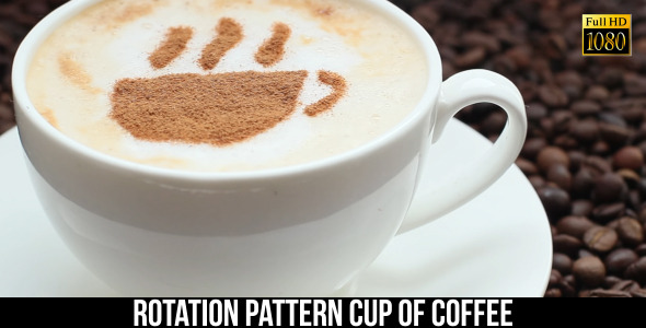 VideoHive Pattern Cup Of Coffee 9661115