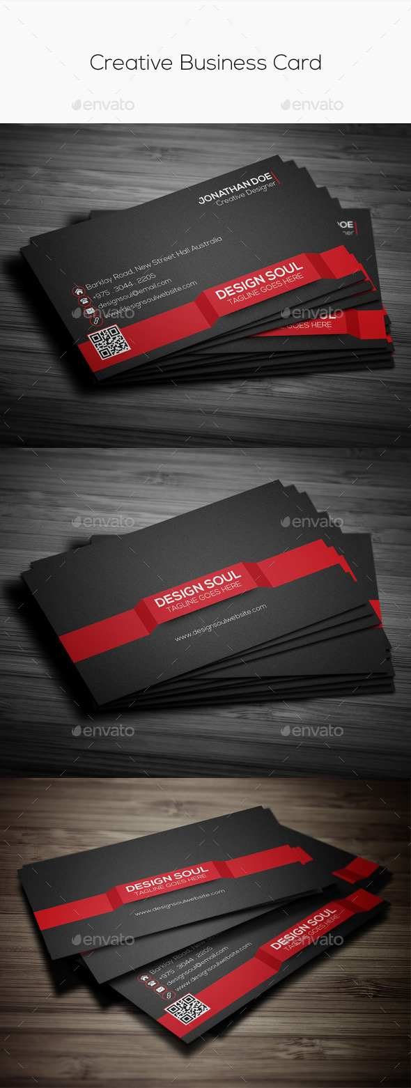 GraphicRiver Creative Business Card 9661120