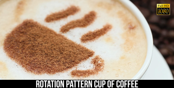 VideoHive Pattern Cup Of Coffee 5 9661201
