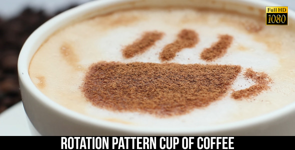 VideoHive Pattern Cup Of Coffee 6 9661248