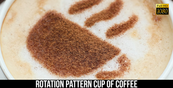 VideoHive Pattern Cup Of Coffee 7 9661387