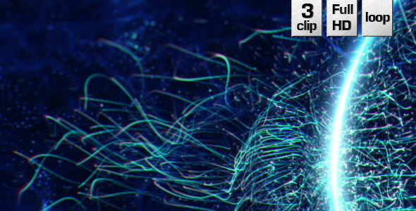 VideoHive Magic Lines Backgrounds Vol.4 9625607