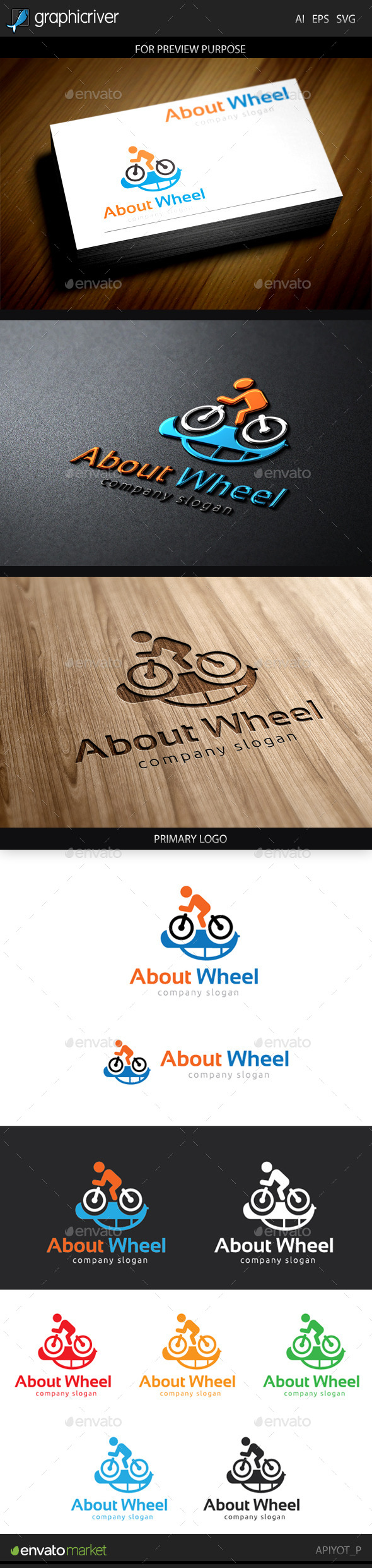 GraphicRiver About Wheel Logo 9661533