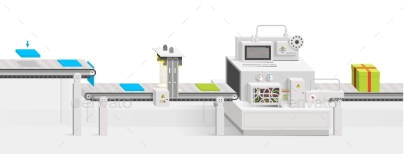 GraphicRiver Conveyor Production 9661592