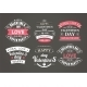 Calligraphic Design Elements Valentines Day - GraphicRiver Item for Sale