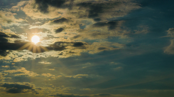 VideoHive Sunset in the Clouds 9662020