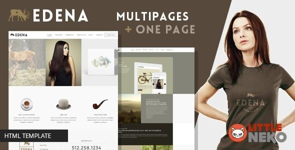 ThemeForest EDENA Creative & multipurpose Bootstrap Template 9662339