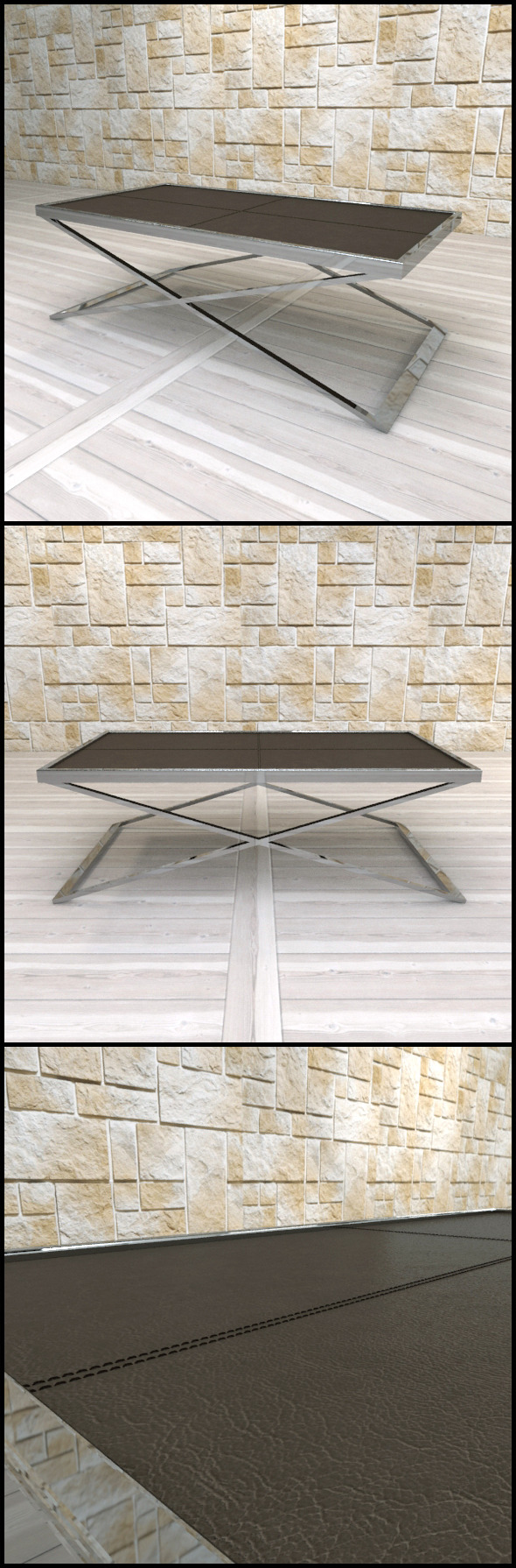 Andrew Martin: Delon Coffee Table - 3DOcean Item for Sale