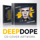 DeepDope - DJ Mix CD Cover Artwork PSD - GraphicRiver Item for Sale