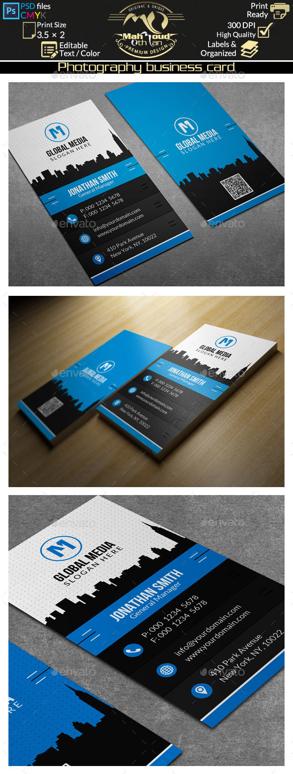 GraphicRiver Corporate Business Card 63 9662586