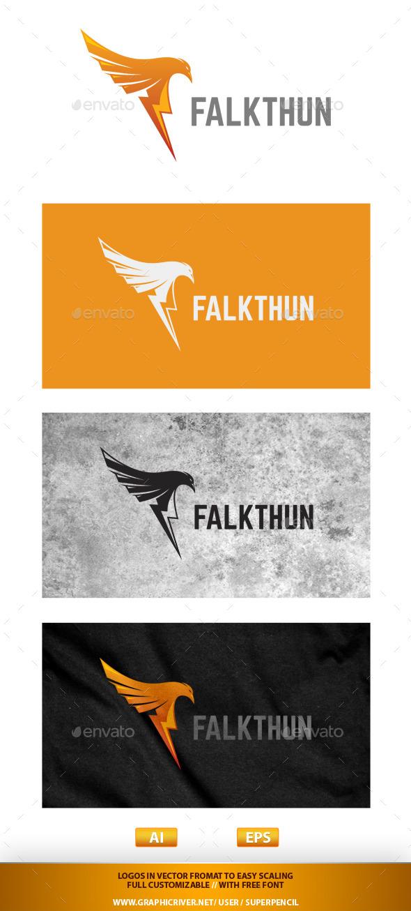 GraphicRiver Falkthun Logo 9662606