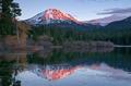 Lassen Peak National Volcanic Park Manzanita Lake Sunset - PhotoDune Item for Sale