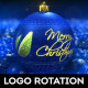 Christmas Logo Rotation - VideoHive Item for Sale