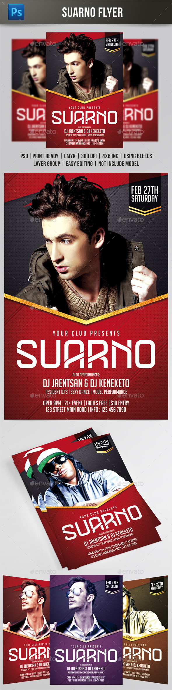 GraphicRiver Suarno Flyer 9662842