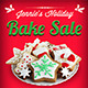 Holiday Bake Sale Flyer - GraphicRiver Item for Sale