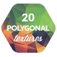 20 Low-Poly Polygonal Background Textures #2 - GraphicRiver Item for Sale