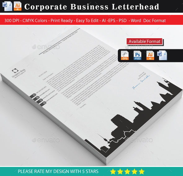 City Building Letterhead