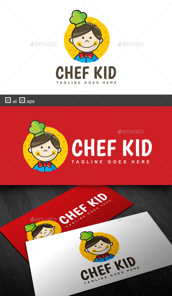 GraphicRiver Chef Kid 9604011