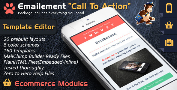 ThemeForest Email Template Builder Call To Action Emailement 9630308