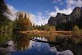 El Capitan Bridal Viel Falls Merced River Yosemite National Park - PhotoDune Item for Sale