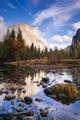 El Capitan Bridal Viel Merced River Yosemite National Park - PhotoDune Item for Sale