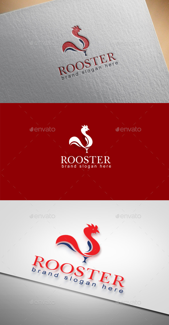 GraphicRiver Rooster Logo 9601133