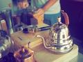 making coffee drip  with vintage grinder - PhotoDune Item for Sale