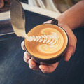 how to make latte art coffee - PhotoDune Item for Sale