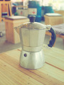 coffee maker, espresso machine on the table - PhotoDune Item for Sale