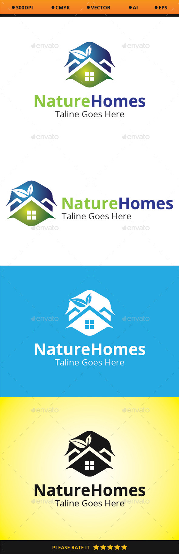 GraphicRiver Nature Homes 9663852